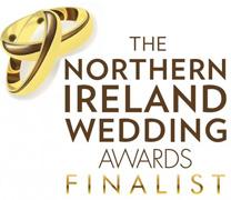 Northern Ireland Wedding Awards Finalist badge