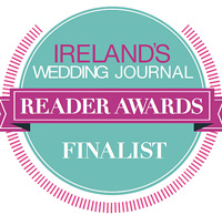 Ireland's Wedding Journal Reader Awards Finalist badge