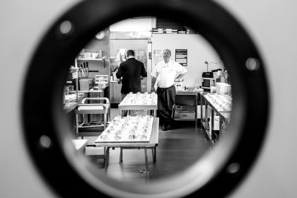 Chef through the porthole